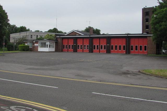 Bridgend Fire Station, Angel Street, Bridgend