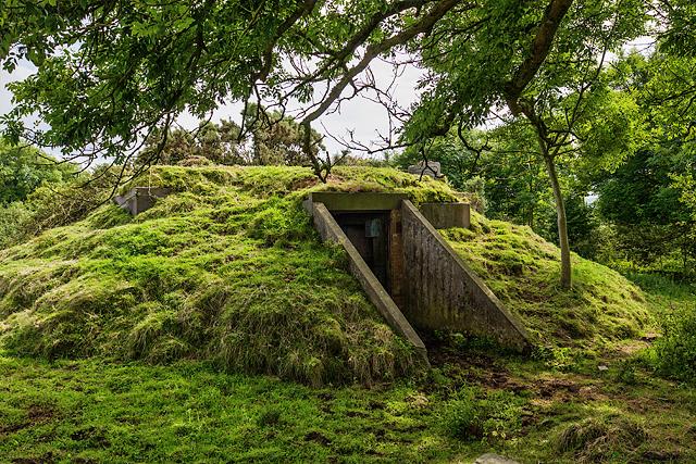 North Wales WWII defences: RAF Nefyn - Chain Home Radar Station - Sixth Bunker (15)