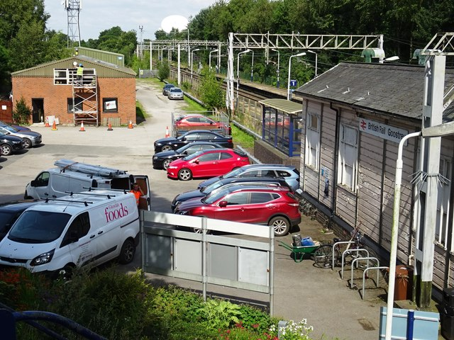 British Rail Goostrey Station