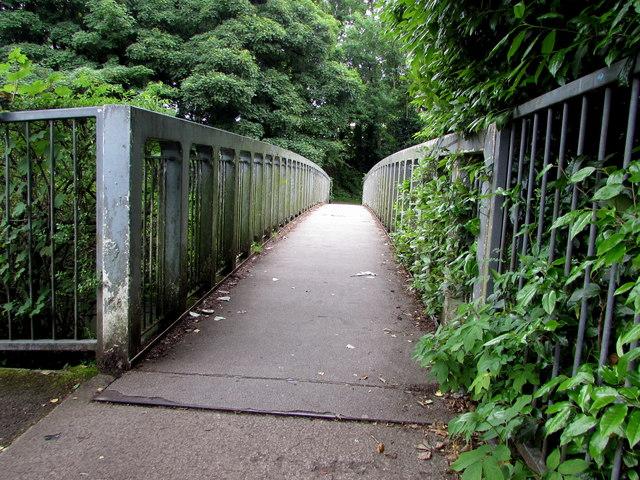 River footbridge, Bridgend
