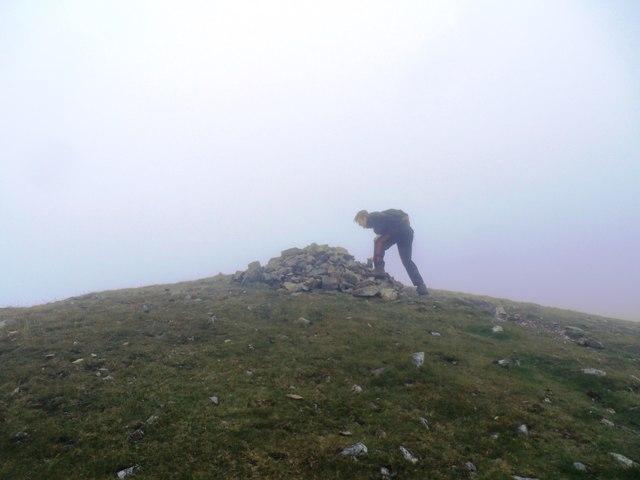 Summit Cairn on Grasmoor