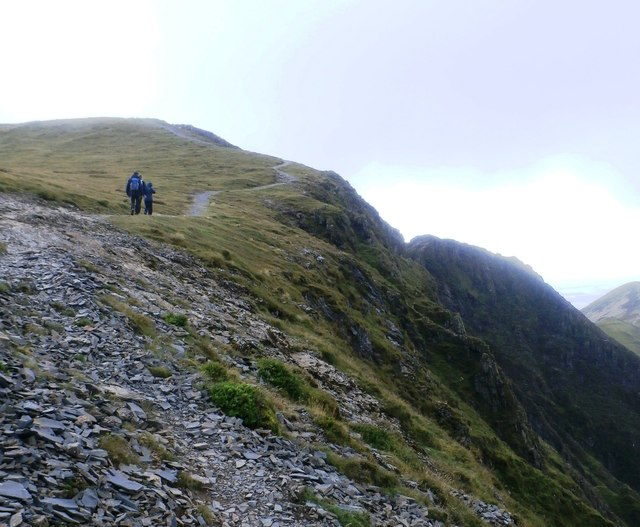 Up towards Hopegill Head