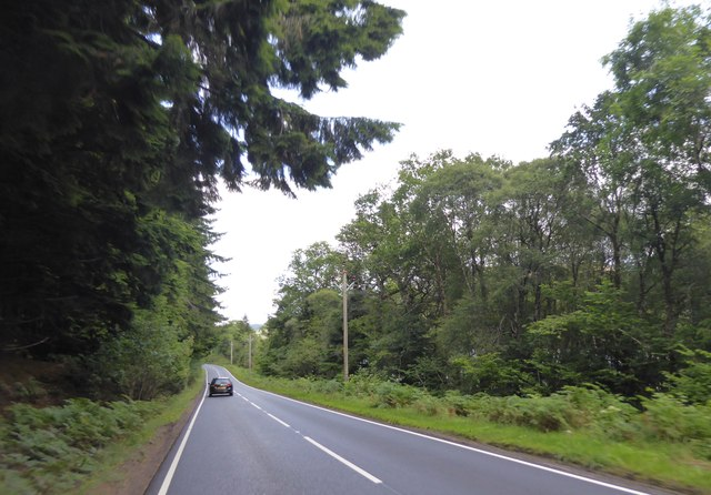 A82 north east of Fort Augustus