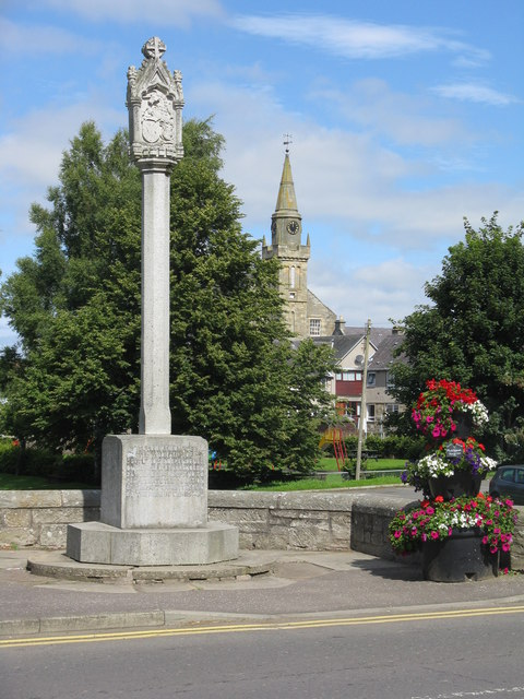 Scottish Independence memorial in Ceres