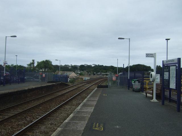 Platform 2, Hayle Railway Station