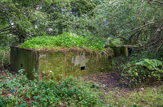 WWII defences of Liverpool: RAF Speke airfield - Section Post (1)