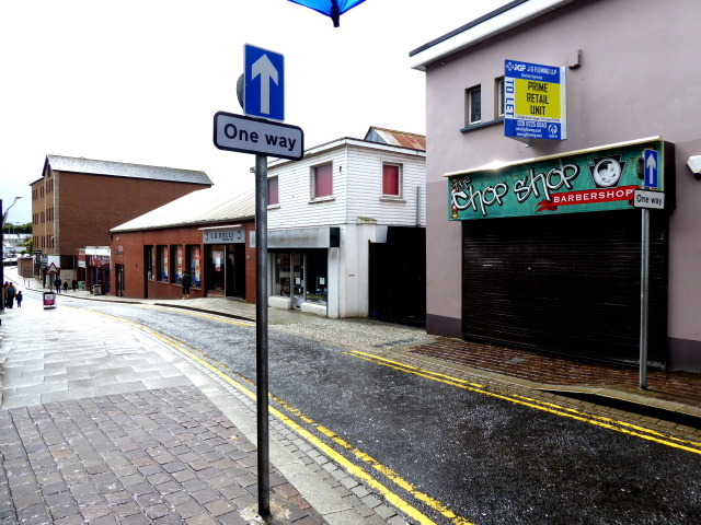 Scarffes Entry, Omagh