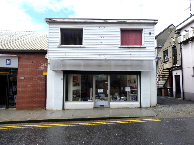 Shop in Scarffes Entry, Omagh