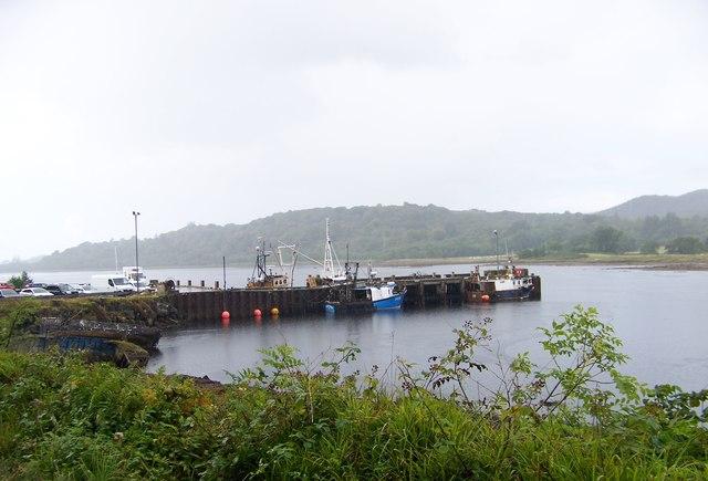 Quay at West Loch Tarbert