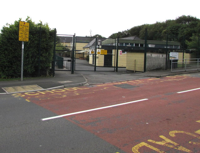School Keep Clear Zone, Victoria Street, Cwmbran