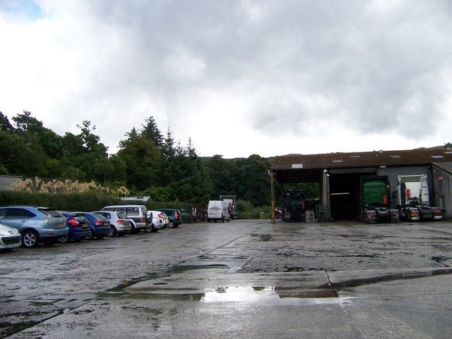 Industrial Depot off the A83