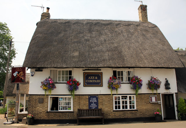 Axe and Compass, Church Lane, Hemingford Abbots