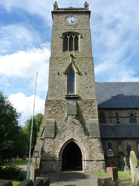 Tower of St George's church