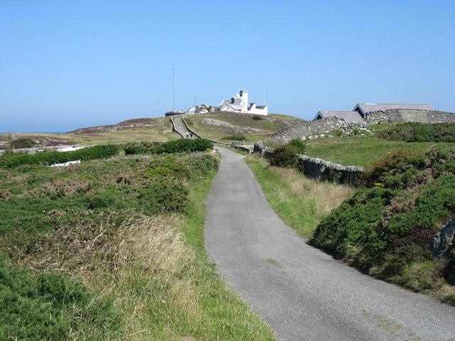 Point Lynas (Trwyn Eilian) lighthouse