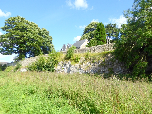 Rocky outcrop at High Coniscliffe