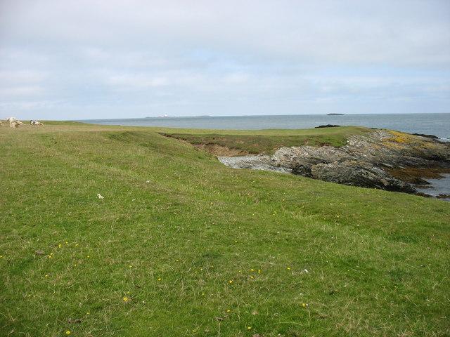 Isle of Anglesey Coastal Path near Hen Borth