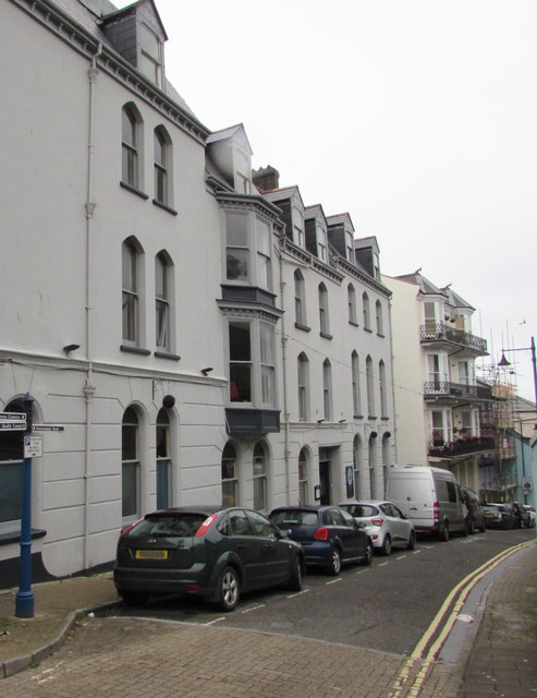 On-street parking, Fore Street, Ilfracombe