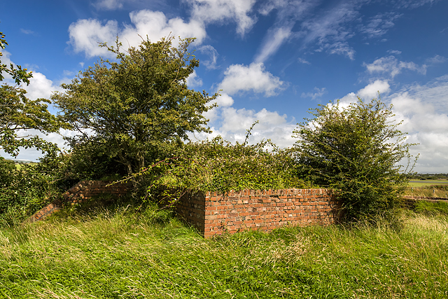 North Wales WWII defences: RAF Mona, Anglesey - Blast Shelter (5)