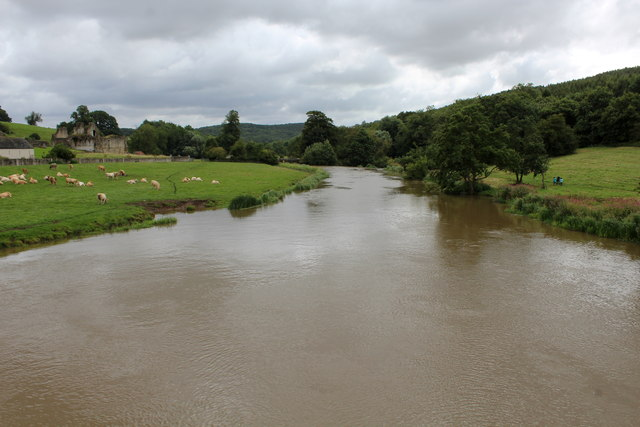 River Derwent from Kirkham Bridge (1)