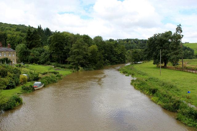 River Derwent from Kirkham Bridge (2)