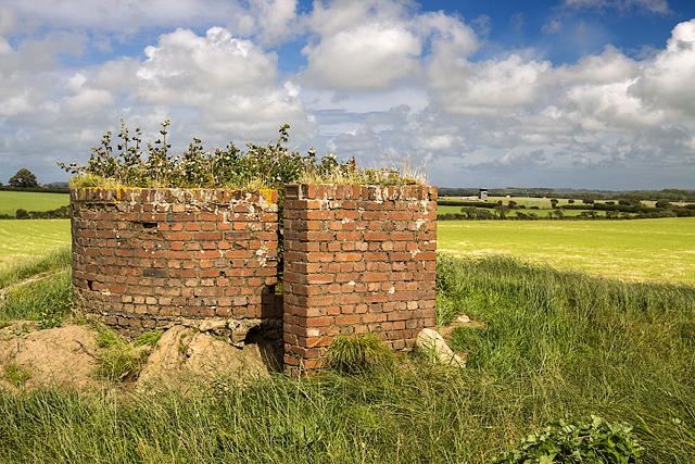 North Wales WWII defences: RAF Mona, Anglesey - LAA Emplacement (7)