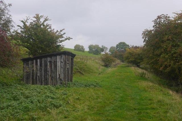 Plate layer's hut, Weasleydale railway