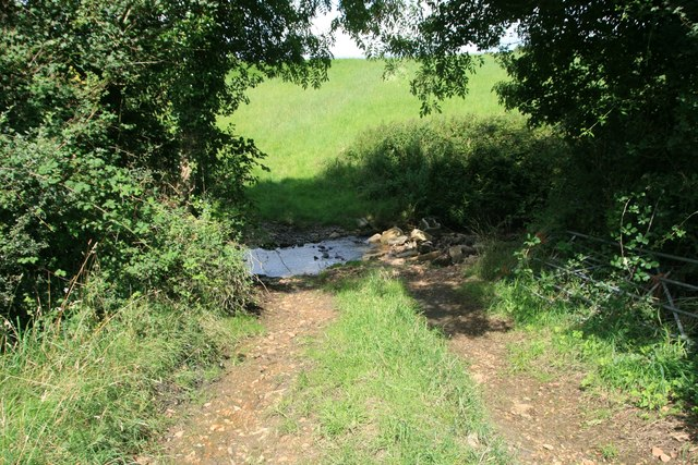 Ford on bridleway to Mutton Street