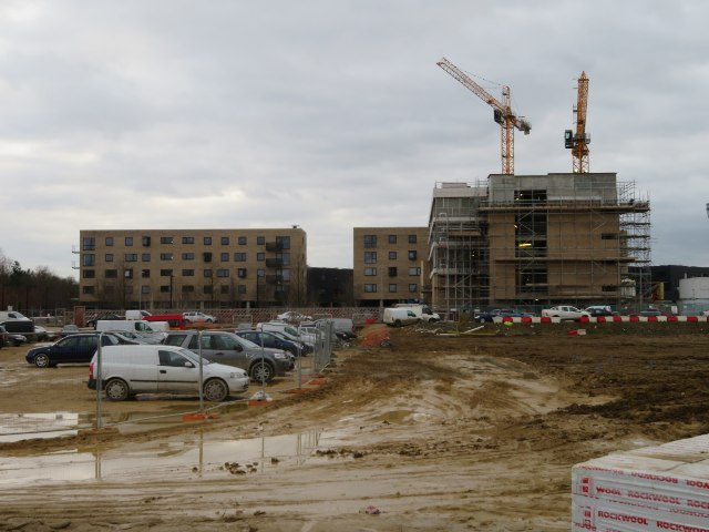 Builders car park - Hobson Square