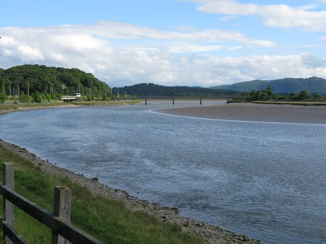 River Leven at Greenodd
