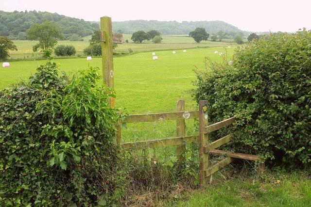 Macmillan Way West at West Charlton