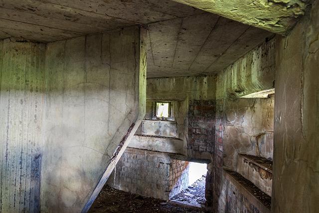 WWII Cheshire, RAF Cranage, near Middlewich - pillbox (9)