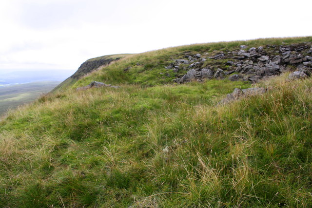 Ruin of stone hut on Swarth Fell