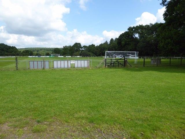 Football field at Ellwood