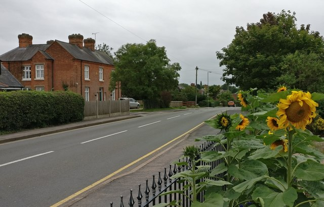 Station Road in Countesthorpe