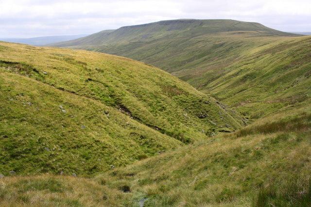 View towards Scarth Fell from Aisgill Head