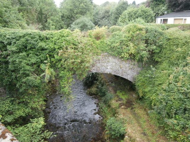 The old bridge over the Taf Fechan at Pont y Cefn