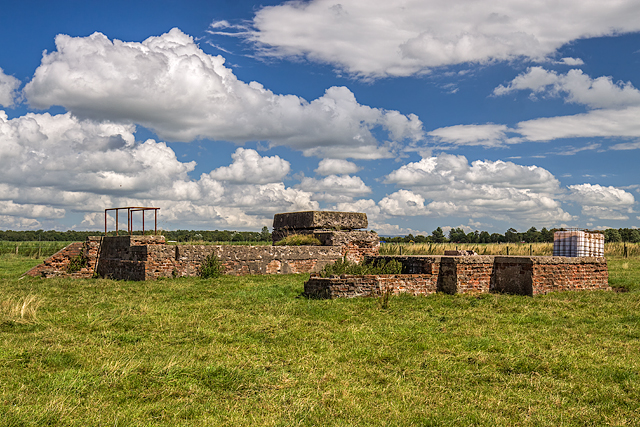 WWII Cheshire, RAF Cranage, near Middlewich - Airfield Battle HQ & LAA Emplacement (26)