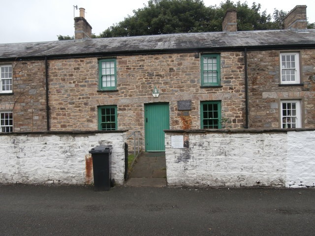 Birthplace of Joseph Parry, the composer, Merthyr Tydfil