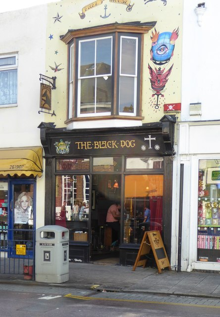 'The Black Dog', Whitstable High Street