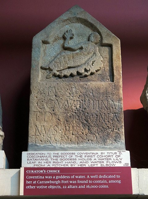 Dedication to Coventina, Clayton Museum, Chesters Roman Fort