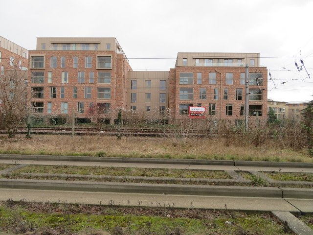 Building by the railway