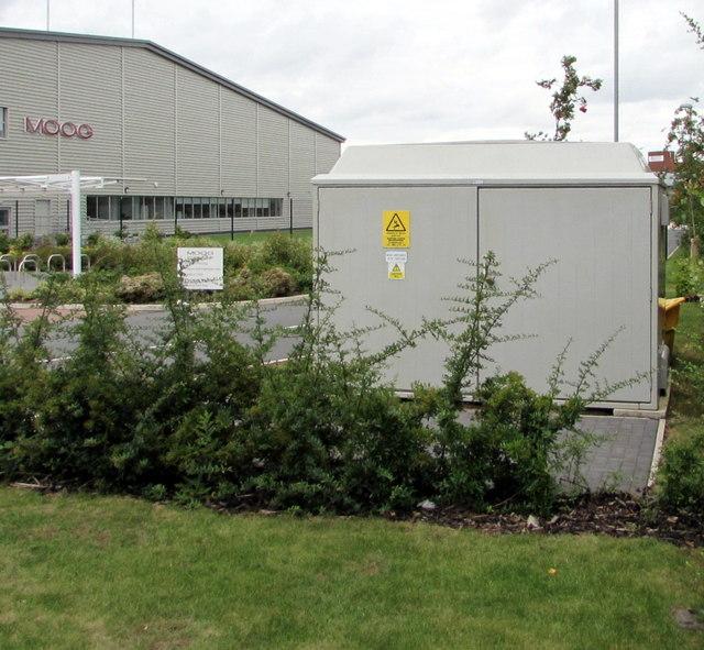 Moog electricity substation, Ashchurch