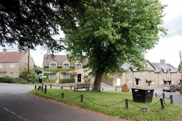 Haselbury Plucknett village green