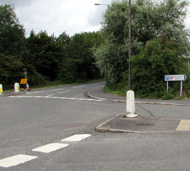 Ashchurch railway station and car park this way