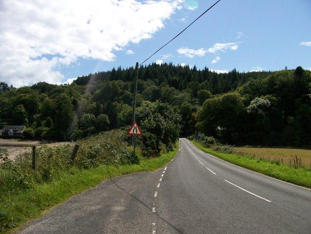 B842 approaching Torrisdale