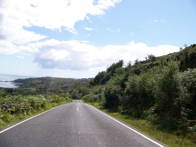 B842 between Saddell and Torrisdale