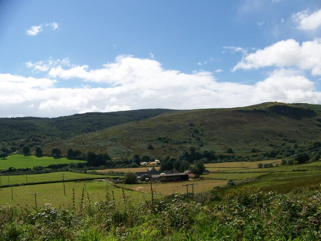 Lephinmore Farm from the B842