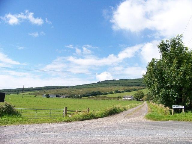 Road to Kilkeddan Farm
