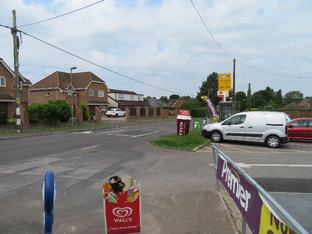 Local shops - Pack Lane