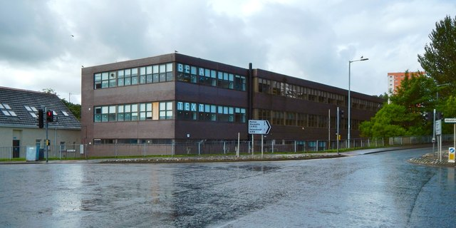 Government offices at Dumbarton